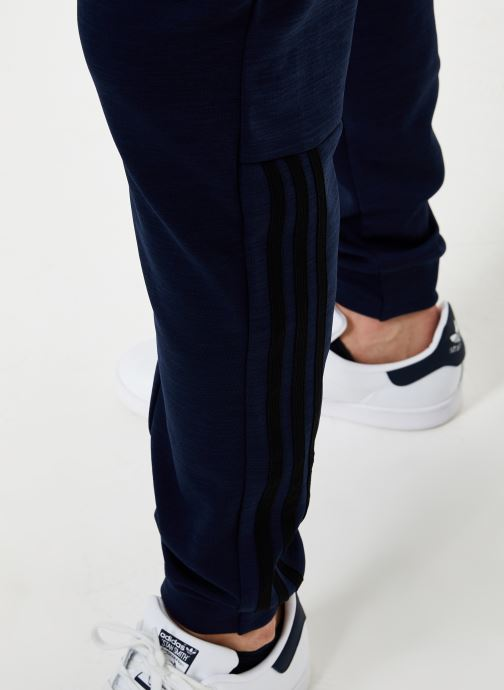 Vêtements adidas performance M Id Sweat Pt Bleu vue face