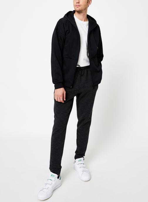 Vêtements adidas performance M Id Sweat Hd Noir vue bas / vue portée sac