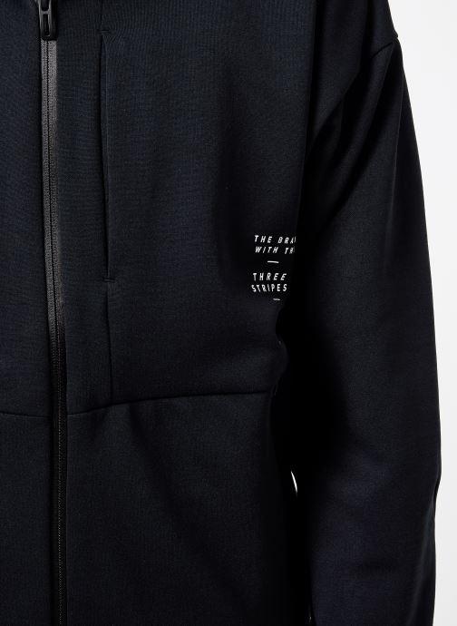 Vêtements adidas performance M Id Sweat Hd Noir vue face
