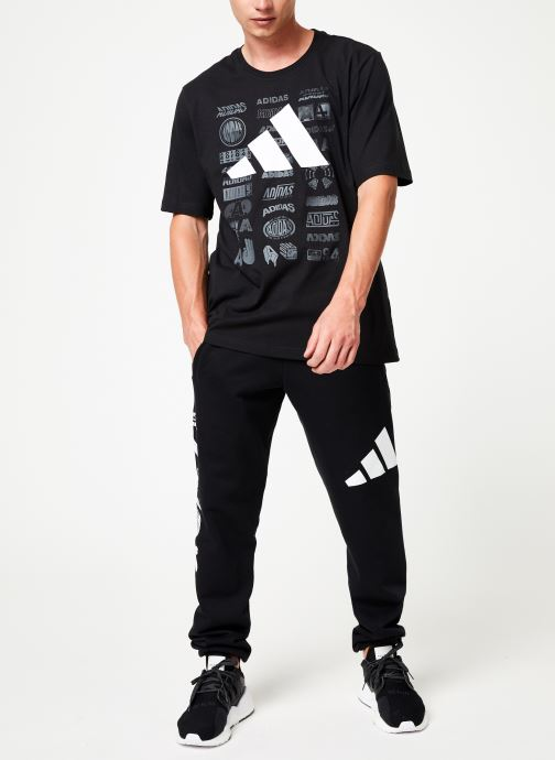adidas performance T-shirt - Tp Ss Tee (Noir) - Vêtements (399512)