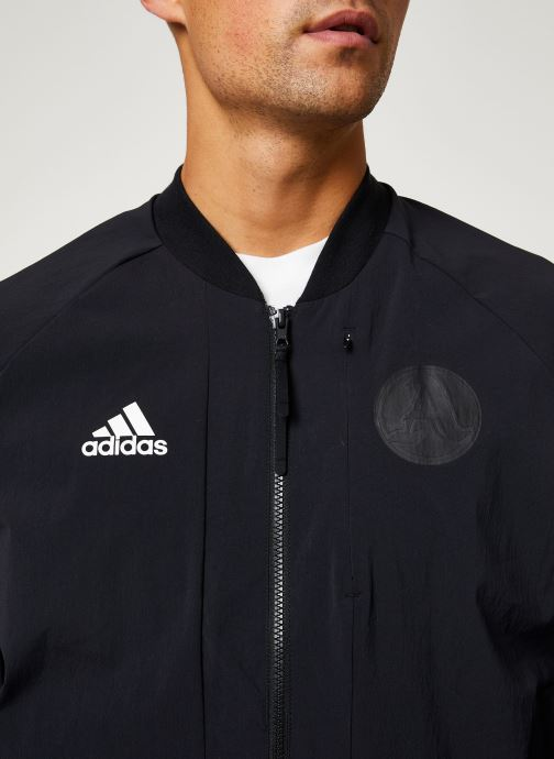 Vêtements adidas performance V Bomber M Noir vue face