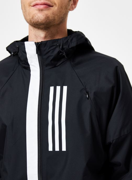 Vêtements adidas performance M Wnd Jkt Lined Noir vue face