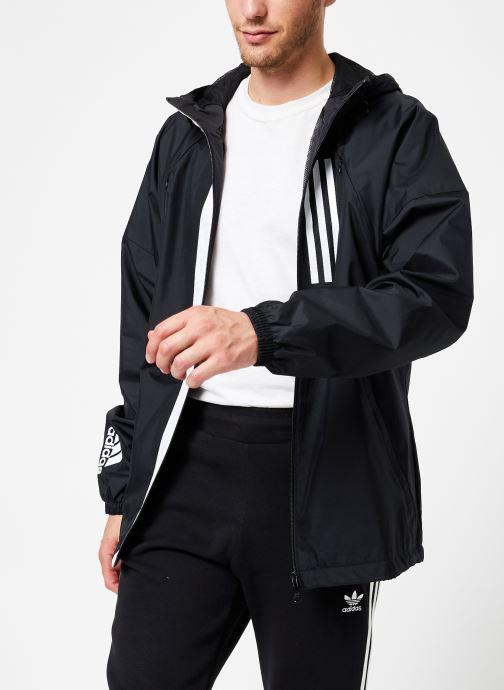 Vêtements adidas performance M Wnd Jkt Lined Noir vue droite