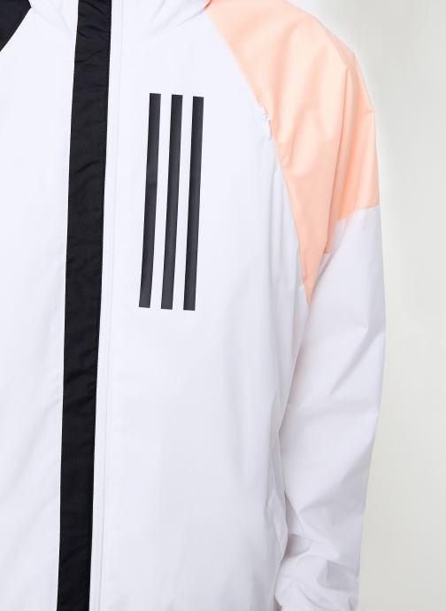 Tøj adidas performance M Wnd Jkt Lined Hvid se forfra