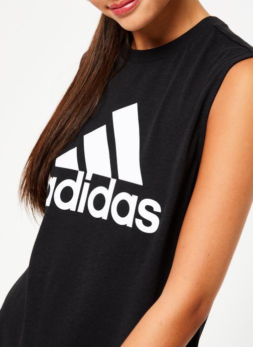 Vêtements adidas performance W Mh Bos Tank Noir vue face