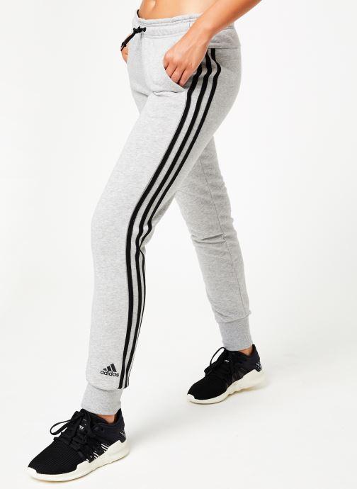 Vêtements adidas performance W Mh 3S Pant Gris vue détail/paire