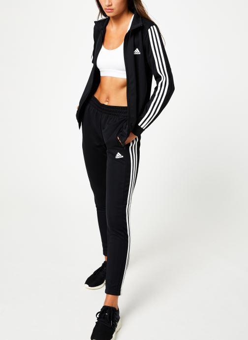Tøj adidas performance Wts Team Sports Sort se forneden