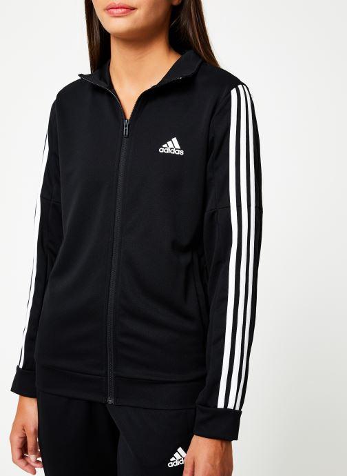 Vêtements adidas performance Wts Team Sports Noir vue face