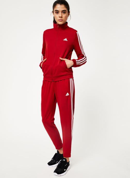 Vêtements adidas performance Wts Team Sports Rouge vue bas / vue portée sac