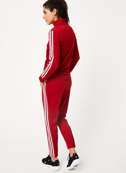 Vêtements adidas performance Wts Team Sports Rouge vue portées chaussures