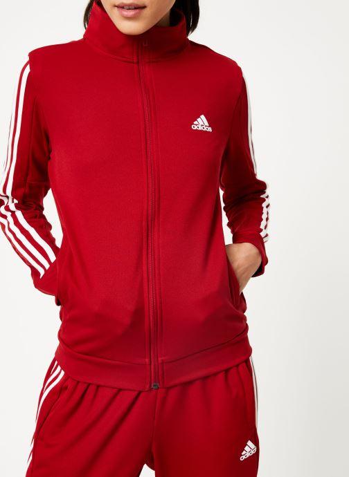 Vêtements adidas performance Wts Team Sports Rouge vue face