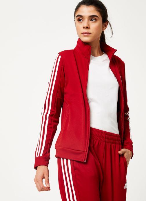 Vêtements adidas performance Wts Team Sports Rouge vue droite
