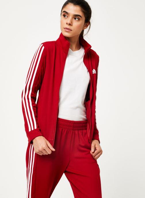 Vêtements adidas performance Wts Team Sports Rouge vue détail/paire