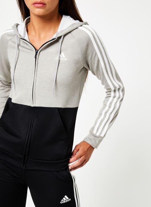 Vêtements adidas performance Wts Game Time Noir vue face