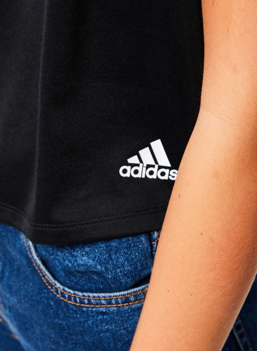 Vêtements adidas performance Atteetude Tee Noir vue face