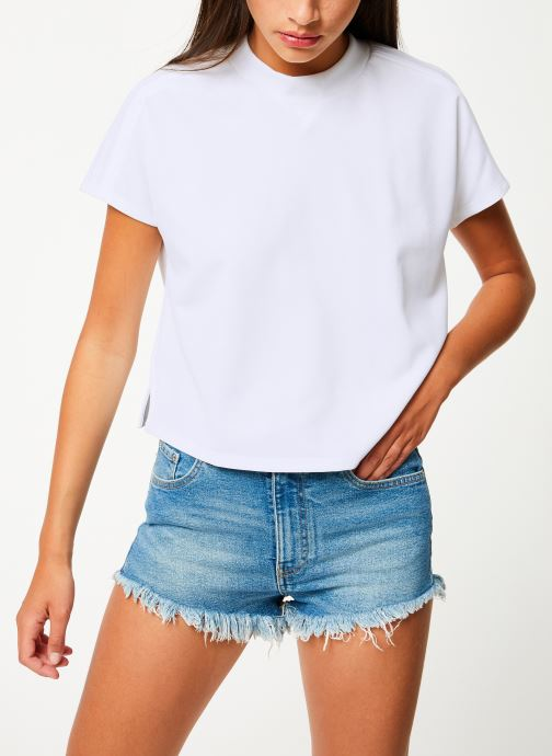 Vêtements adidas performance Atteetude Tee Blanc vue droite