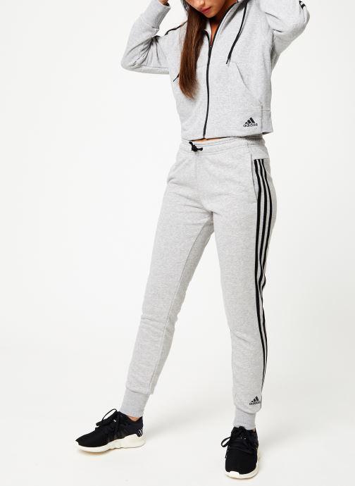 adidas performance W Mh 3S Fz Hd (Grå) Kläder på Sarenza