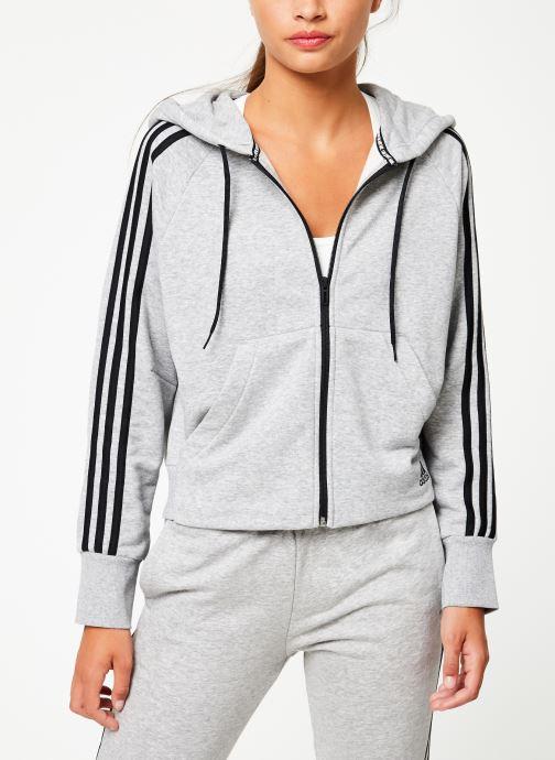 adidas performance Sweatshirt hoodie W Mh 3S Fz Hd (Gris