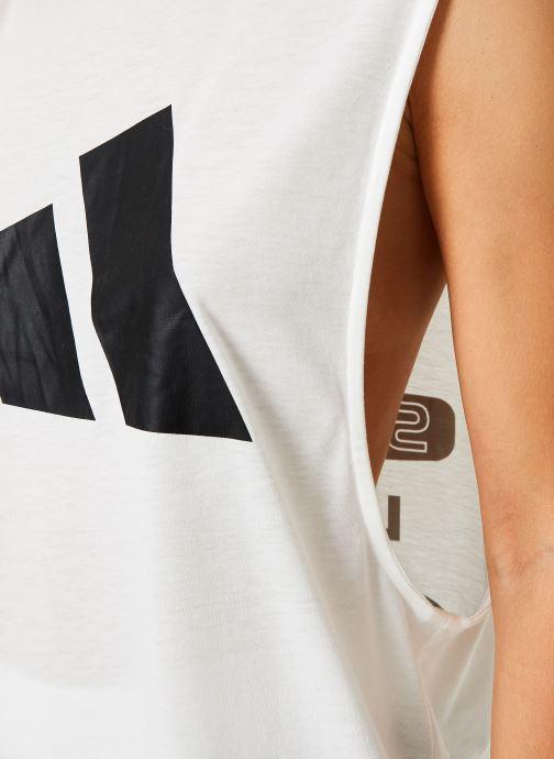 Vêtements adidas performance W Tp Win M T Ai Blanc vue face