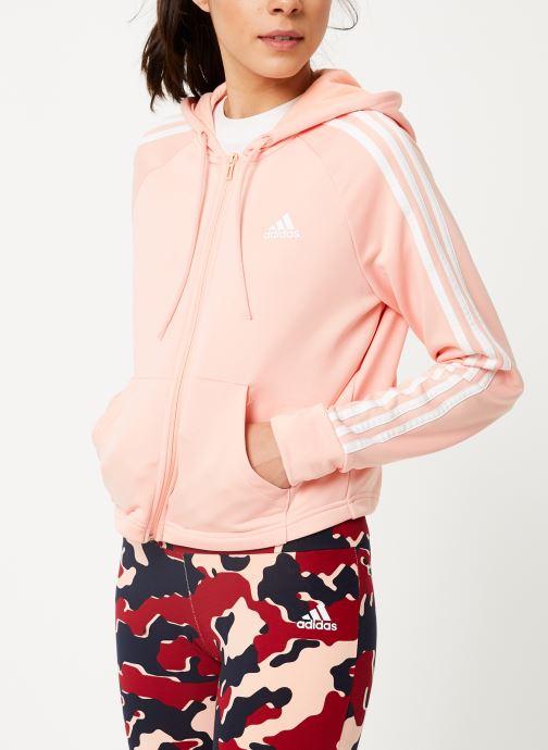 Vêtements adidas performance Wts Hoody&Tight Rose vue droite