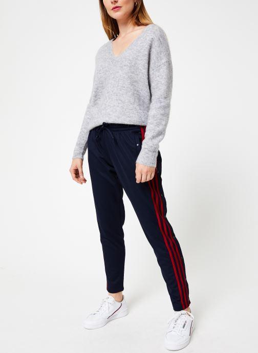 Vêtements adidas performance W Id 3S Snap Pt Bleu vue bas / vue portée sac