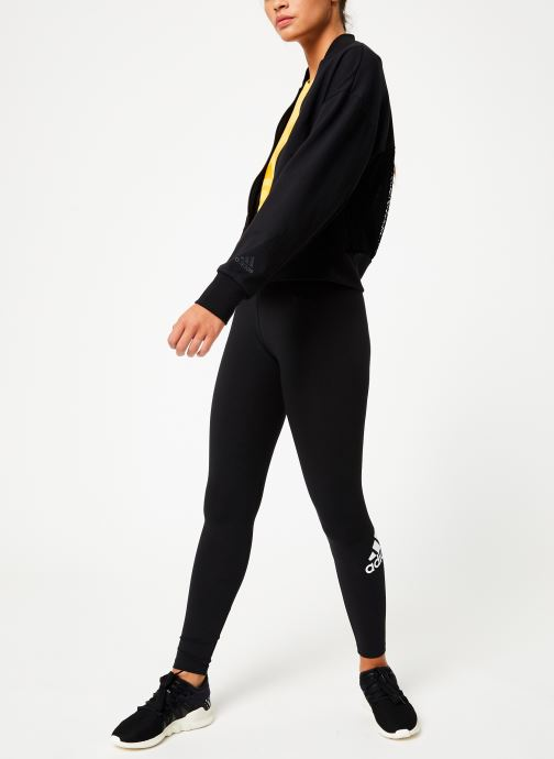 Vêtements adidas performance W Id  Mesh Bomb Noir vue bas / vue portée sac