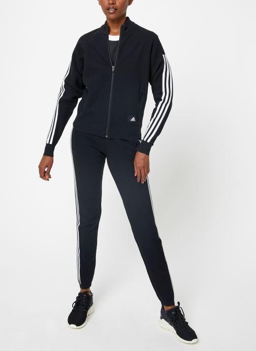Vêtements adidas performance W Id Knit Tt Noir vue bas / vue portée sac