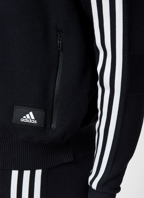 Vêtements adidas performance W Id Knit Tt Noir vue face