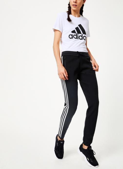 Vêtements adidas performance W Id Knit Pant Noir vue bas / vue portée sac