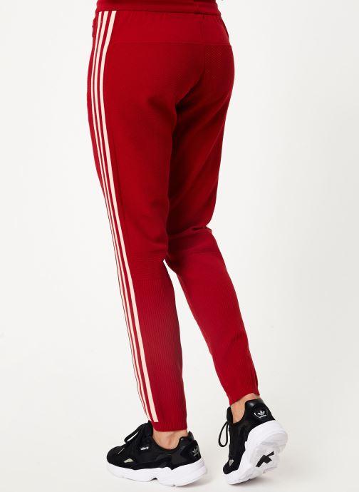 Kleding adidas performance W Id Knit Pant Rood model