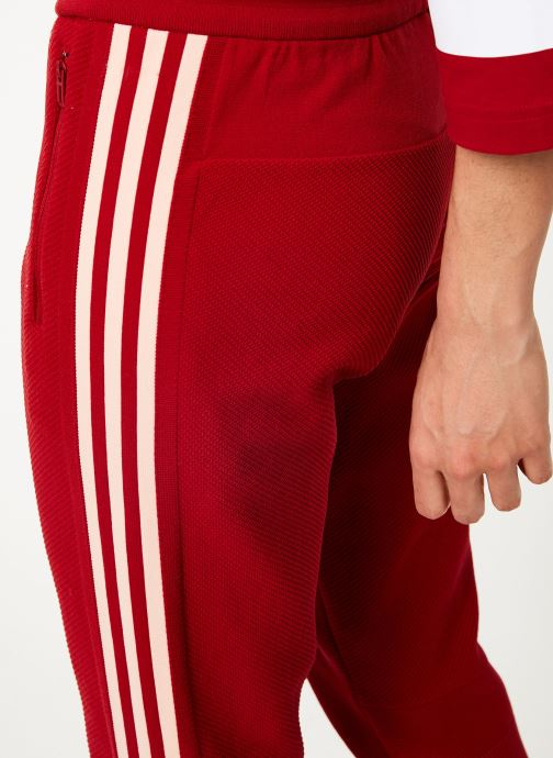 Vêtements adidas performance W Id Knit Pant Rouge vue face