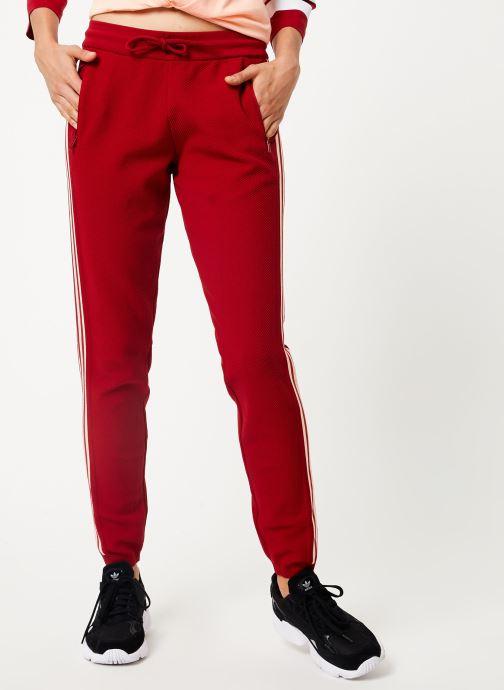 Vêtements adidas performance W Id Knit Pant Rouge vue détail/paire