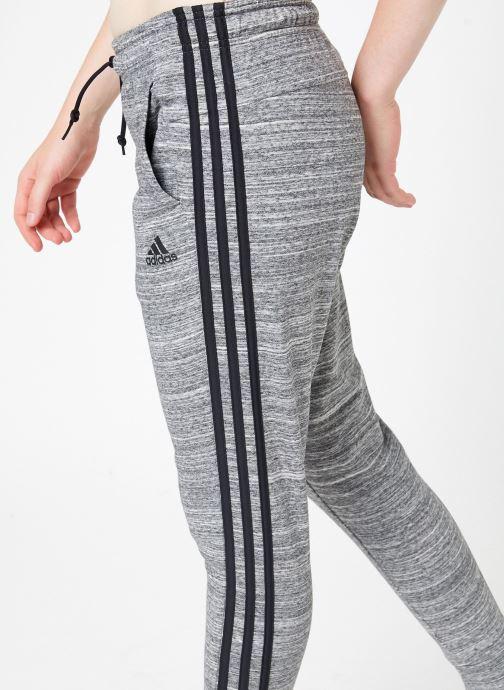 Vêtements adidas performance W Mh Hth Pant Gris vue face