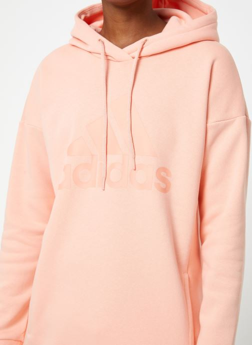 Vêtements adidas performance W Mh Bos Oh Hd Rose vue face