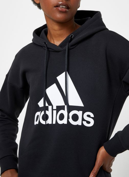 Kleding adidas performance W Mh Bos Oh Hd Zwart voorkant