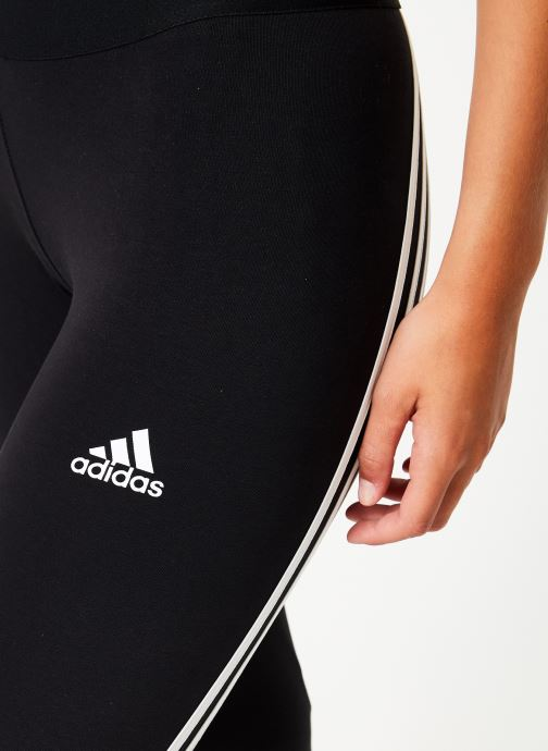 Vêtements adidas performance W Asym 3S Tight Noir vue face