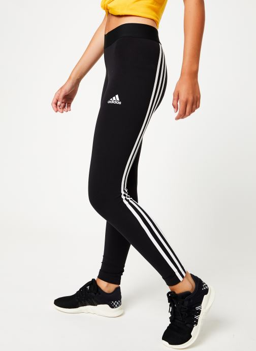 Vêtements adidas performance W Asym 3S Tight Noir vue détail/paire