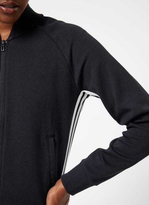 Vêtements adidas performance W Mh 3S Dk Jkt Noir vue face