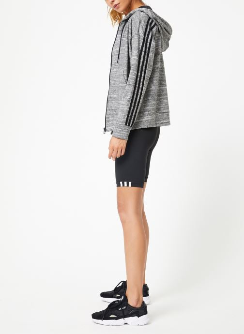 adidas performance Sweatshirt hoodie - W Mh Hth Fz Hd (Gris) - Vêtements (399574)