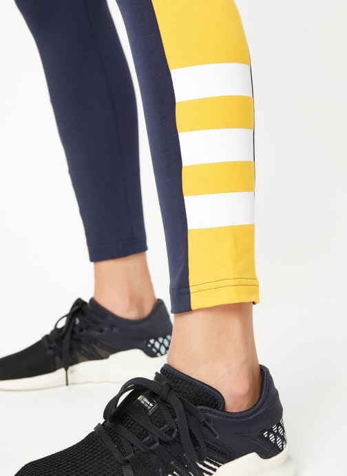 Vêtements adidas performance W Sid J Tight Bleu vue face