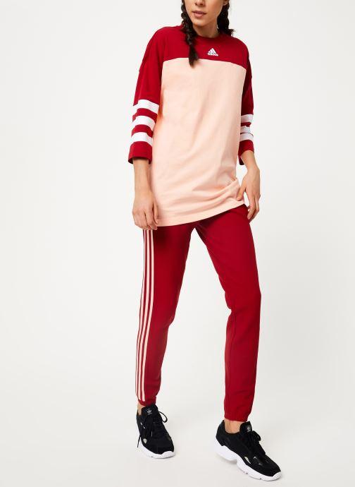 Vêtements adidas performance W Sid Jersey Rose vue bas / vue portée sac