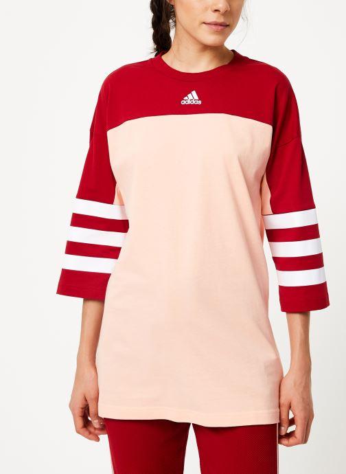 Vêtements adidas performance W Sid Jersey Rose vue droite