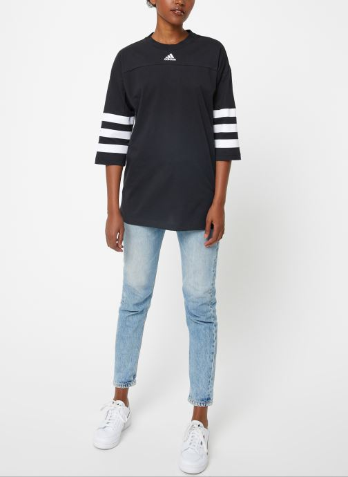 Vêtements adidas performance W Sid Jersey Noir vue bas / vue portée sac