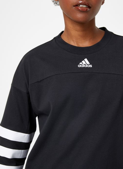 Vêtements adidas performance W Sid Jersey Noir vue face