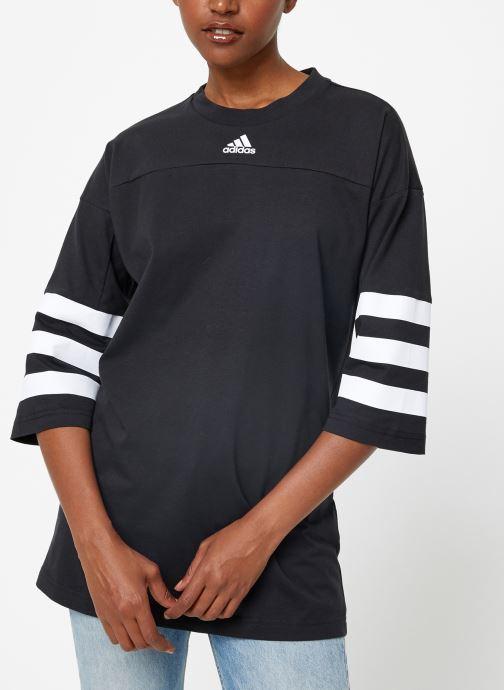 Vêtements adidas performance W Sid Jersey Noir vue droite