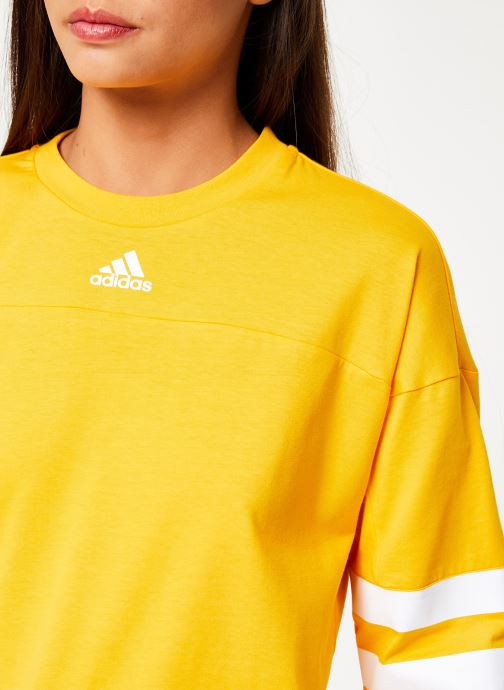 Vêtements adidas performance W Sid Jersey Jaune vue face