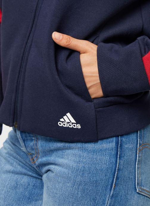 Vêtements adidas performance W Sid Jacket Bleu vue face