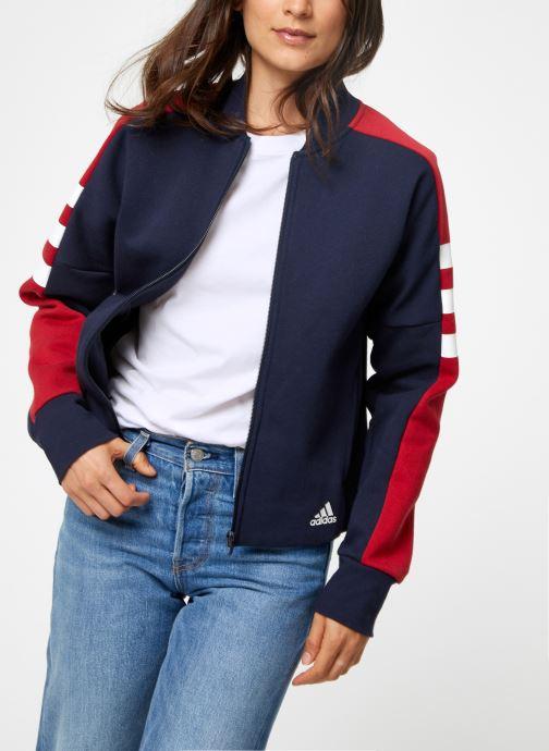 Vêtements adidas performance W Sid Jacket Bleu vue détail/paire