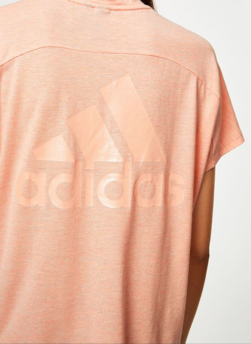 Vêtements adidas performance W Id Winn Attee Rose vue face