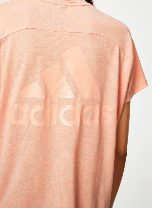 Kleding adidas performance W Id Winn Attee Roze voorkant